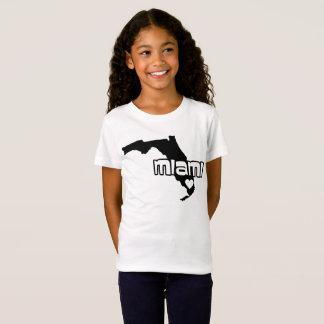 Camiseta Tshirt de Miami do estado de Florida