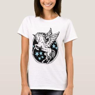 Camiseta Tshirt de Pegasus do unicórnio do vôo