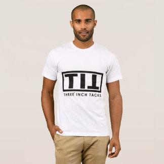 Camiseta Tshirt de três aderências da polegada
