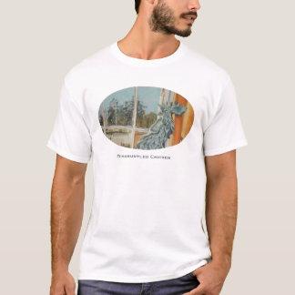 Camiseta Tshirt desapontado da galinha