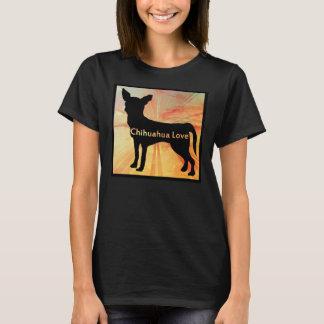 Camiseta TShirt do amor da chihuahua pela canção de natal