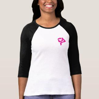 Camiseta Tshirt do basebol do Vixen