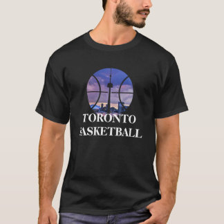 Camiseta Tshirt do basquetebol de Toronto