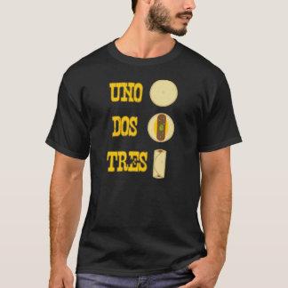 Camiseta Tshirt do Burrito do Dos Tres da ONU