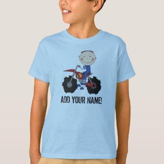 Camiseta Tshirt do cavaleiro da bicicleta da sujeira do