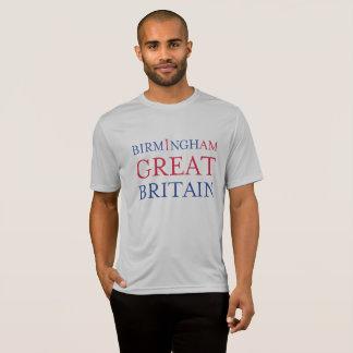 Camiseta Tshirt do concorrente de Birmingham Grâ Bretanha