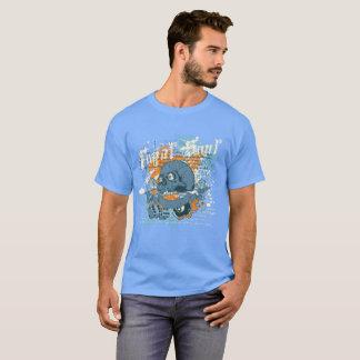 Camiseta Tshirt do crânio dos dados