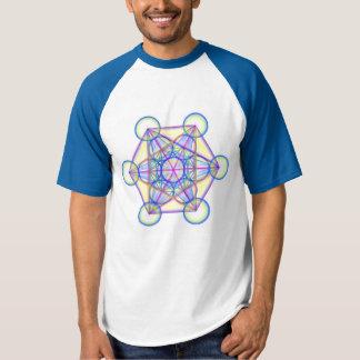 Camiseta Tshirt do cubo de Metatron