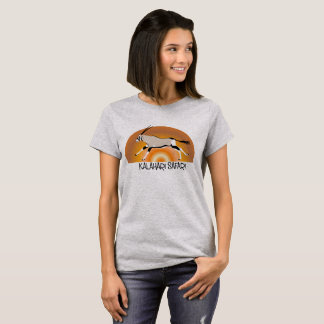 Camiseta Tshirt do design de Kalahari do Gemsbok/Oryx das