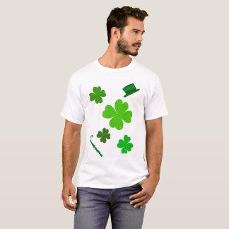 Camiseta Tshirt do Dia de São Patrício para homens