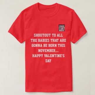 Camiseta Tshirt do dia do representante Val de Damicratic