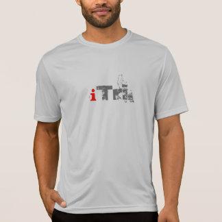 Camiseta Tshirt do Esporte-Tek da marca do iTri