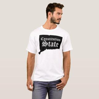 Camiseta Tshirt do estado da constituição de Connecticut