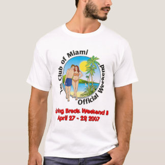 Camiseta Tshirt do fim de semana de TCOM
