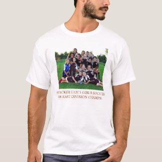 Camiseta TSHIRT do FUTEBOL das MENINAS do EMPACOTADOR U12C3