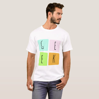 Camiseta Tshirt do geek