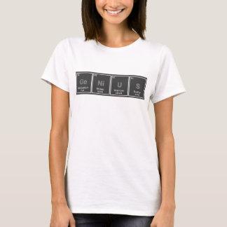 Camiseta Tshirt do gênio da mesa periódica