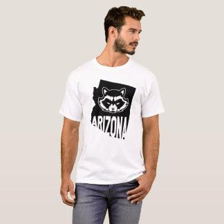 Camiseta Tshirt do guaxinim da arizona