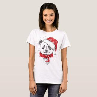 Camiseta Tshirt do Hoodie da camisola do Natal da panda