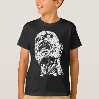 Camiseta Tshirt do horror do zombi dos miúdos - morto de