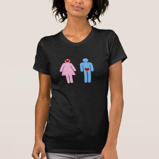 Camiseta Tshirt do humor do amor da mulher do homem