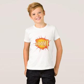 Camiseta Tshirt do impressão da explosão do crescimento
