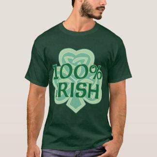 Camiseta Tshirt do irlandês de 100%