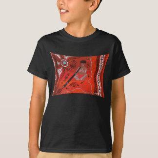 Camiseta Tshirt do JOGADOR de DIDJERIDOO por Mundara