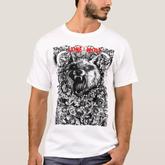 Camiseta tshirt do lobo.