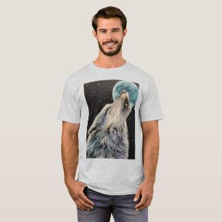 Camiseta Tshirt do lobo do urro