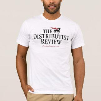 Camiseta tShirt do logotipo da revisão de Distributist