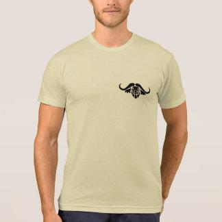 Camiseta Tshirt do logotipo do búfalo