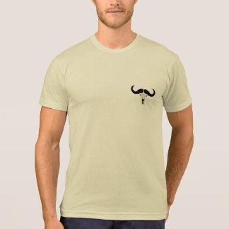 Camiseta Tshirt do logotipo do crânio do búfalo