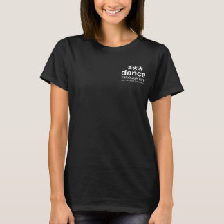 Camiseta Tshirt do logotipo - preto