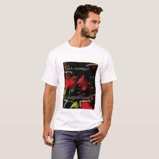 Camiseta tshirt do matadouro 5 do vonnegut de Kurt