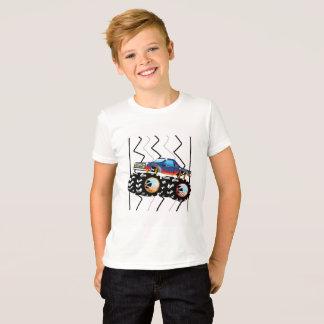 Camiseta Tshirt do monster truck para meninos