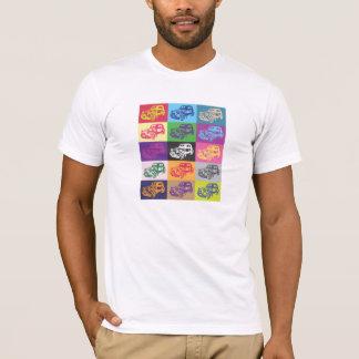 Camiseta Tshirt do mosaico de Citroen 2CV