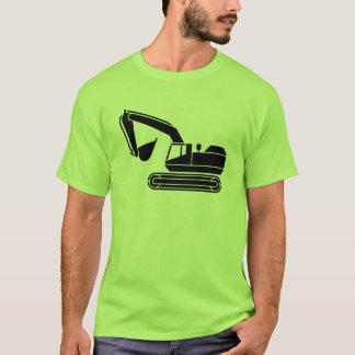 Camiseta Tshirt do motorista do escavador das caras