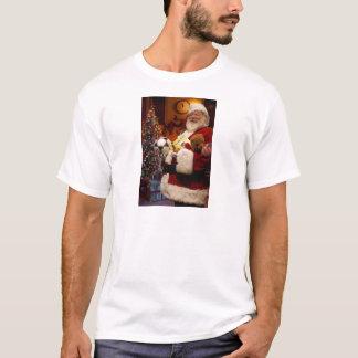 Camiseta Tshirt do Natal do pai do vintage para homens