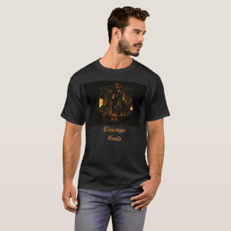 Camiseta Tshirt do ouro de Chicago