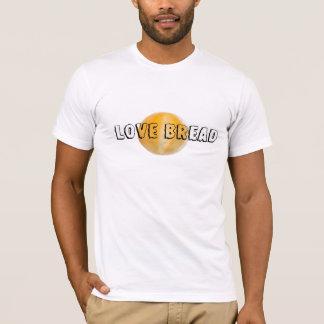 Camiseta Tshirt do pão do amor