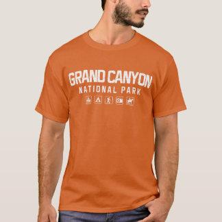 Camiseta Tshirt do parque nacional do Grand Canyon (escuro)