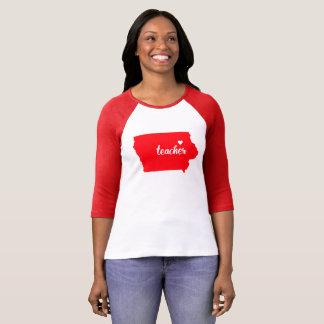 Camiseta Tshirt do professor de Iowa (vermelho)