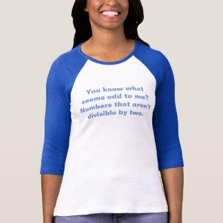 Camiseta Tshirt do professor de matemática da chalaça da