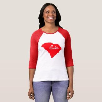 Camiseta Tshirt do professor de South Carolina (vermelho)