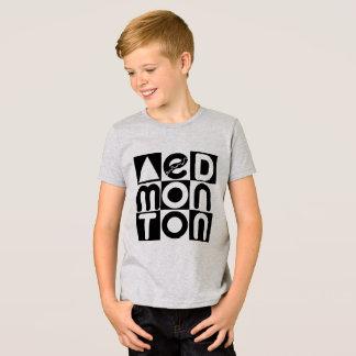 Camiseta Tshirt do quebra-cabeça de Edmonton
