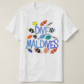 Camiseta Tshirt do safari do mergulho de Maldives