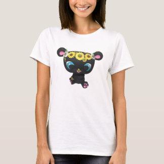 Camiseta Tshirt do urso preto