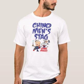 Camiseta TShirt do veado dos homens de tipo de tela de