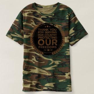 Camiseta tshirt do veterano